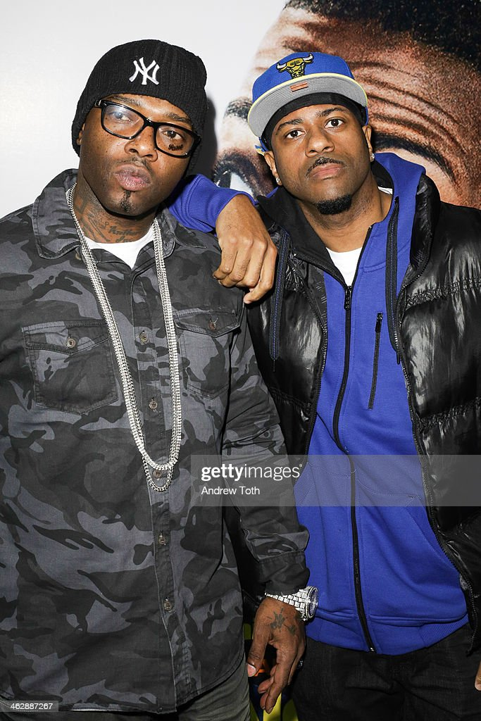 Recording artists <a gi-track='captionPersonalityLinkClicked' href=/galleries/search?phrase=Treach&family=editorial&specificpeople=240223 ng-click='$event.stopPropagation()'>Treach</a> (L) and DJ Kay Gee attend the 'Ride Along' screening at AMC Loews Lincoln Square on January 15, 2014 in New York City.