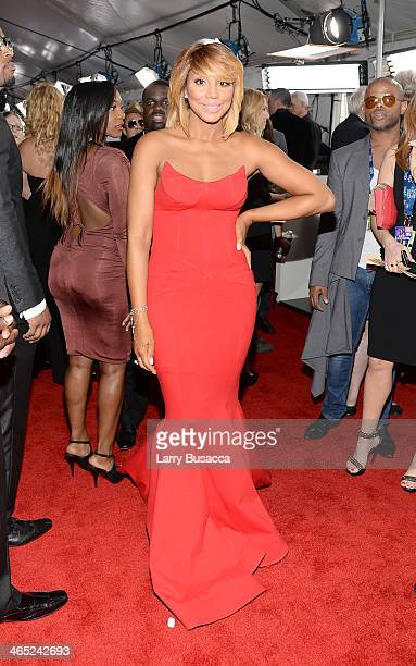 Recording Artist/TV Personality Tamar Braxton attends the 56th GRAMMY Awards at Staples Center on January 26 2014 in Los Angeles California