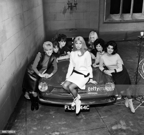 Recording of new Granada series 'The Man From Room 17' Left front to back Julie Goodyear Averil Hudson Celia Rhodan Maureen Hayden Muriel Roberts Lis...