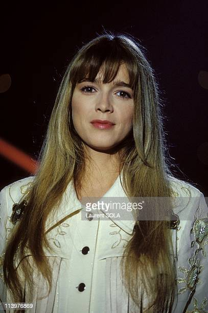 Recording of 'Show Dorothee' with Helene Rolles In Paris France On October 11 1993Helene Rolles