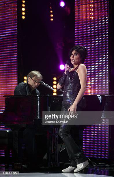 Recording of the program 'Les stars du rire' on France 10 in Paris France on December 08th 2008 Liane Foly Recording of the program 'Les stars du...