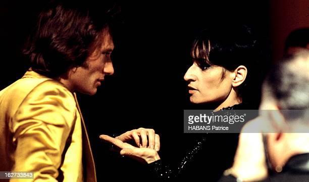 Recording Of The Programme 'Top À Johnny Hallyday' Enregistrement de l'émission 'Top à Johnny Hallyday' diffusée le 18 mars 1972 par l'Ortf sur la...