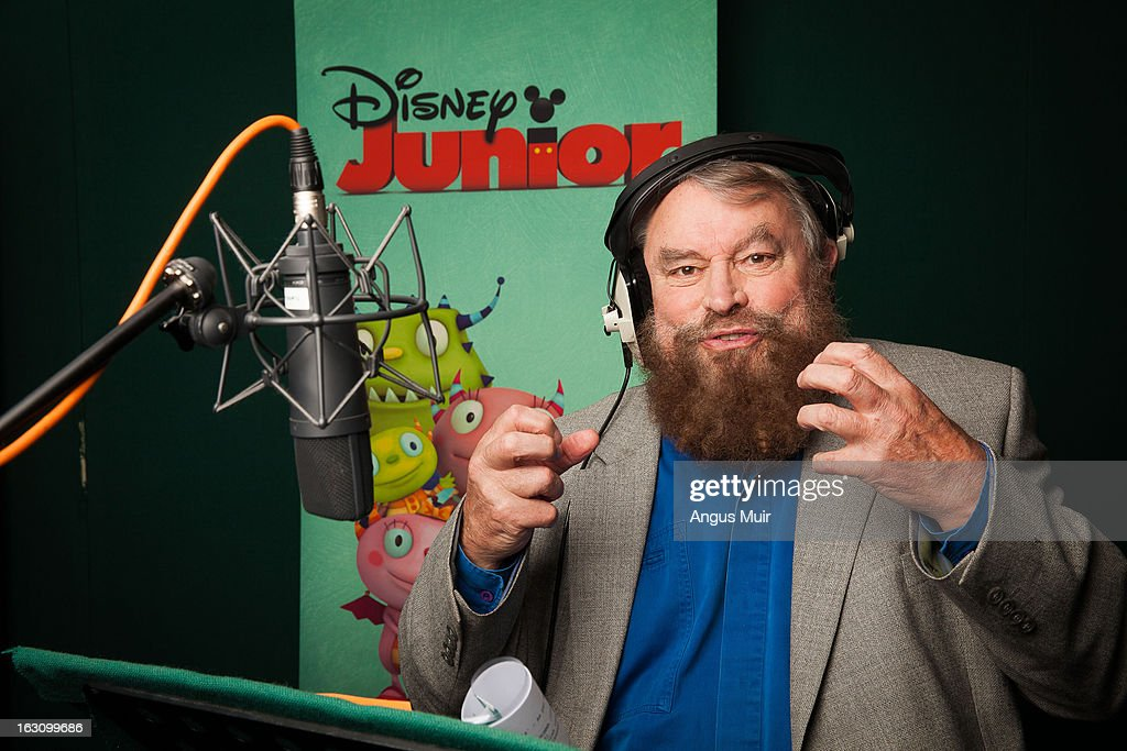 HUGGLEMONSTER - Recording Session - Brian Blessed ('Robin Hood: Prince of Thieves') records the recurring guest star role of Eduardo Enormomonster in Disney Junior's 'Henry Hugglemonster,' an animated series about a family of fun-loving monsters which highlights positive life lessons about family and community designed for kids age 2-7. The series premieres MONDAY, APRIL 15 (5:00 p.m., ET/PT) on the 24-hour Disney Junior channel in the U