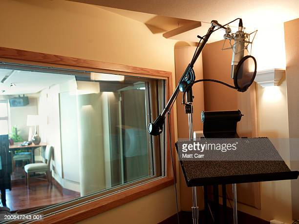 Recording studio booth