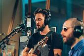 Recording studio musicians