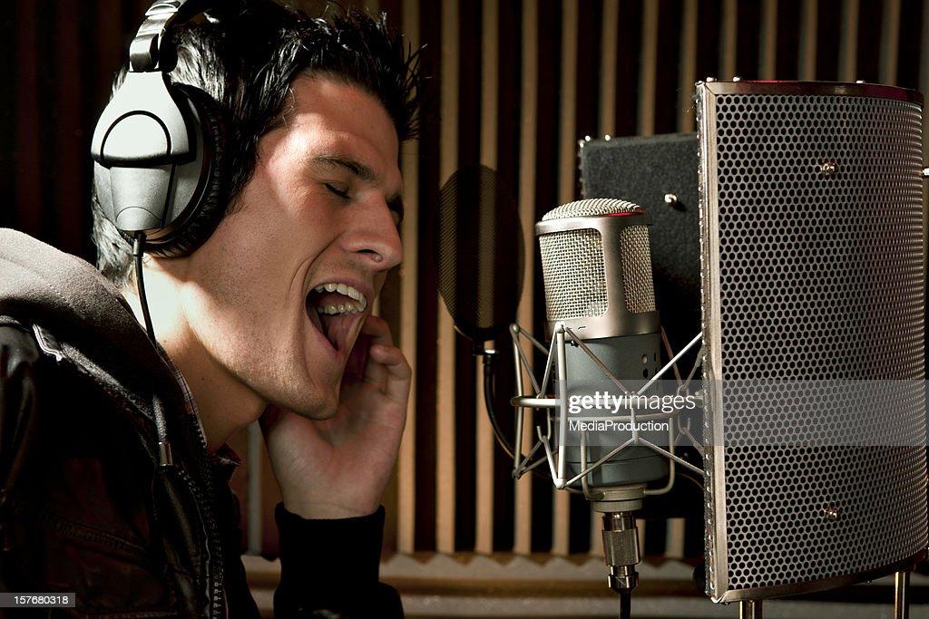 Recording studio : Stock Photo