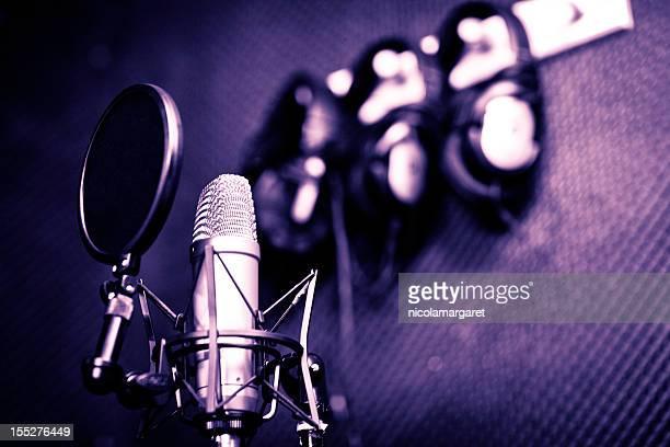 studio d'enregistrement series: microphone