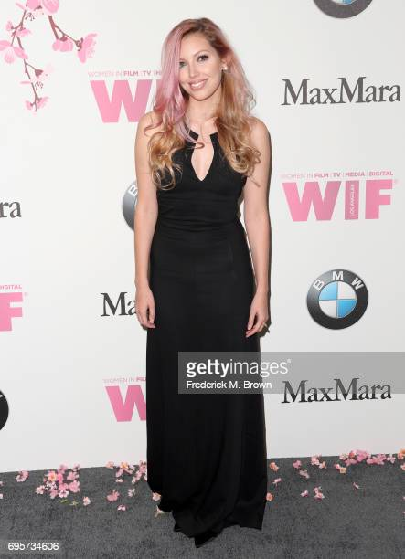 Recordingg artist Dalal Bruchmann at Women In Film 2017 Crystal Lucy Awards presented By Max Mara and BMW at The Beverly Hilton Hotel on June 13 2017...