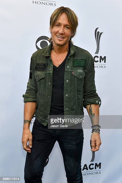 Recoring Artist Keith Urban arrives at 10th Annual ACM Honors at the Ryman Auditorium on August 30 2016 in Nashville Tennessee