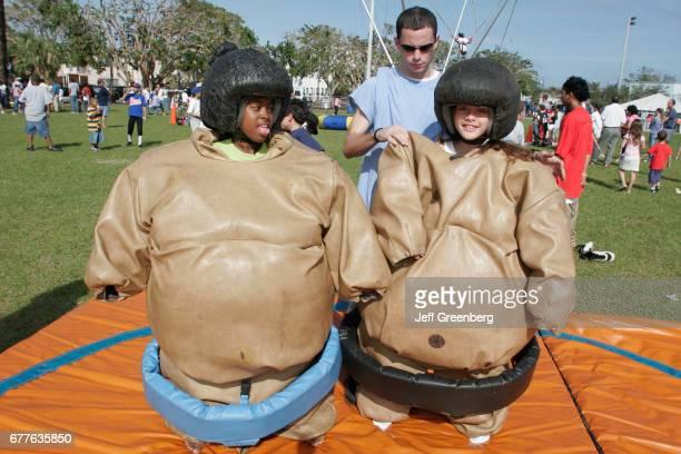 Recreation Expo Sumo wrestling suits