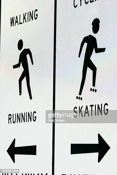 Recreational Activities Sign