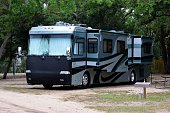 Recreational vehicle at campsite Florida, USA