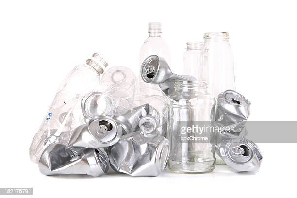 Recyclable Cans, Bottles, Jars