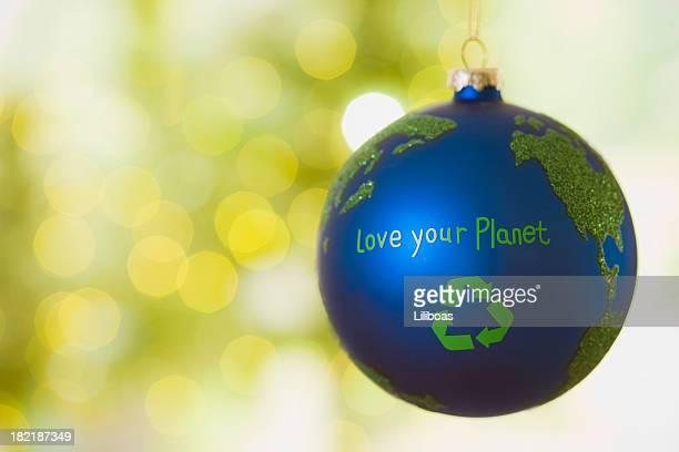 Reciclar Bauble Natal
