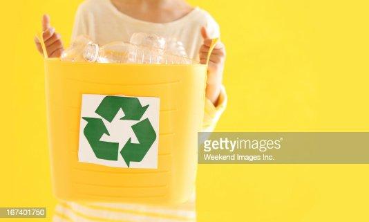 Recycle now : Stock Photo