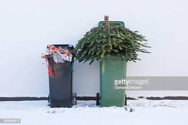 リサイクル、クリスマスツリー