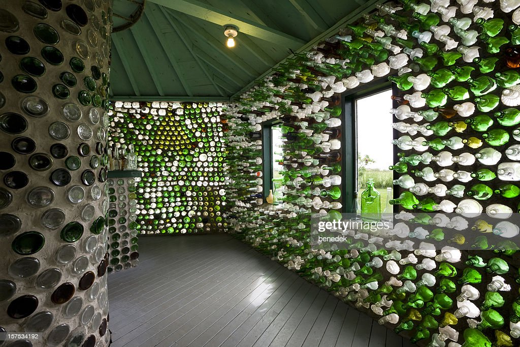 Recycled Bottle House, Alternative Building