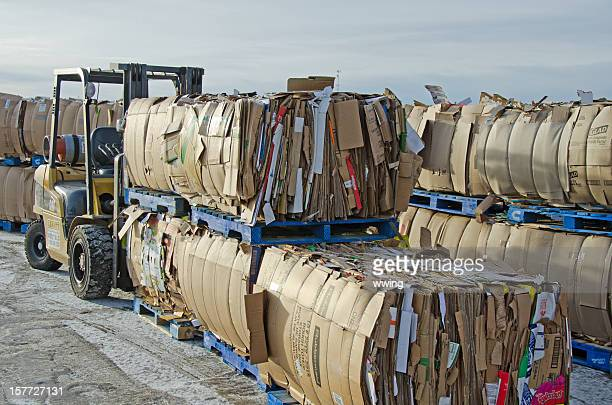 Scatole di cartone riciclato