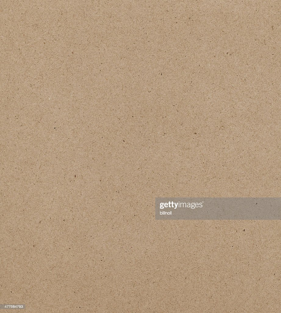 High resolution recycled cardboard