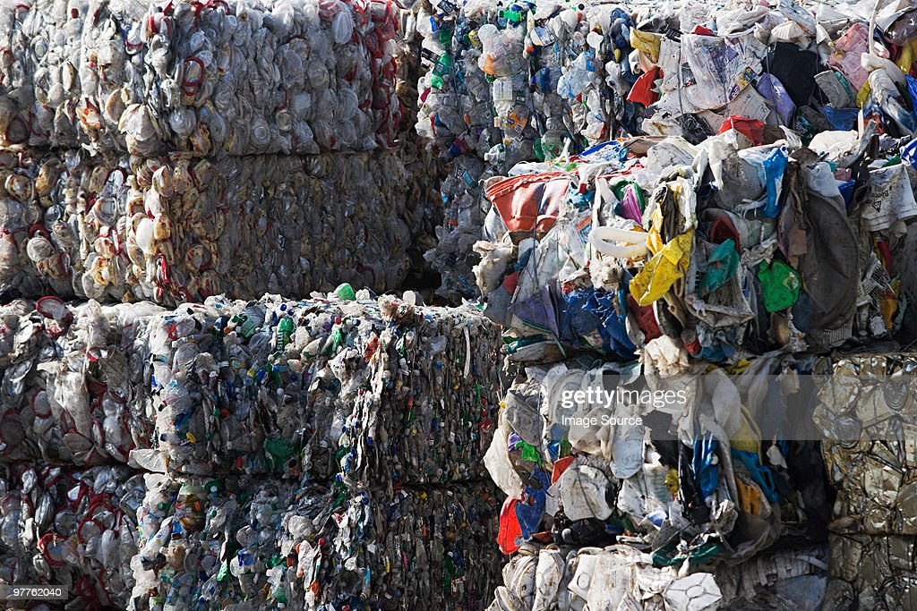 Recycled materials : Stock Photo