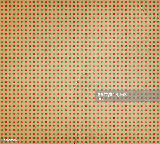 recycled paper with dot pattern