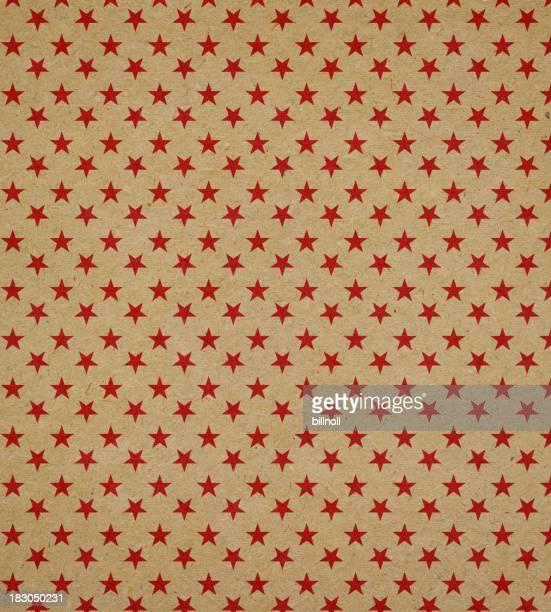 Papier recyclé avec motif étoiles