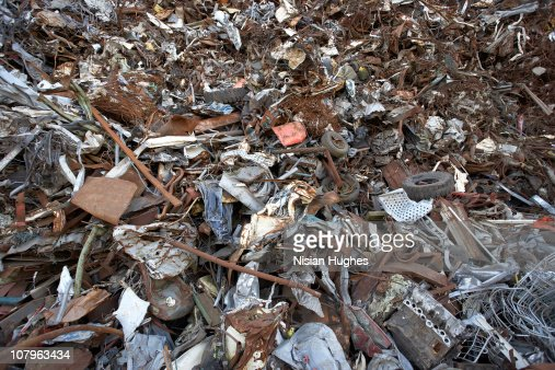 Recycled Scrap Metal : Stock Photo