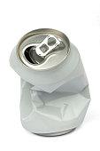 recycling aluminum metal can