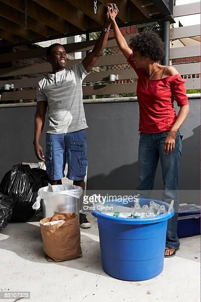 Recyclage dans la ville