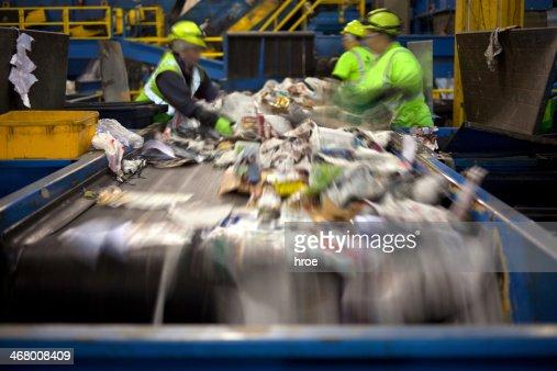 Recycling belt : Stock Photo