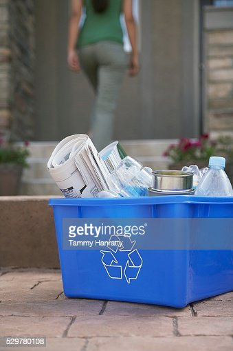 Recycling box : Stock Photo