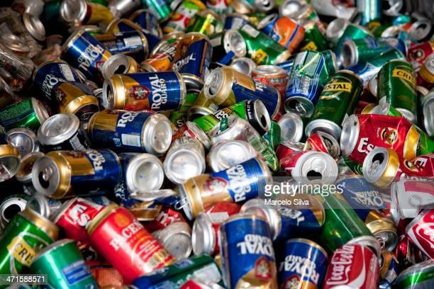 Cestos de reciclaje