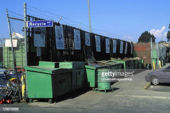 Recycling Center Santa Monica Los Angeles California