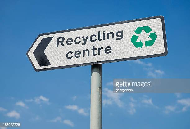Recycling Centre Sign