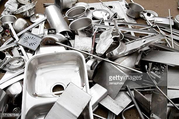 Reciclaje cocina de aluminio
