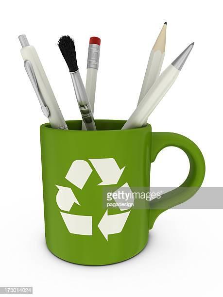recycling-Becher
