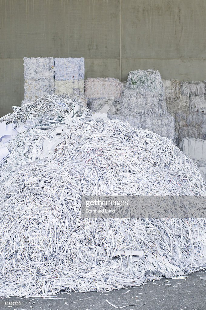 Recycling paper : Stock Photo