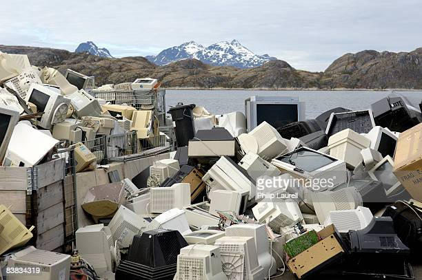 Recycling plant tellies and monitors Norway.