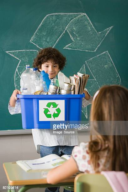 Recycling show and tell