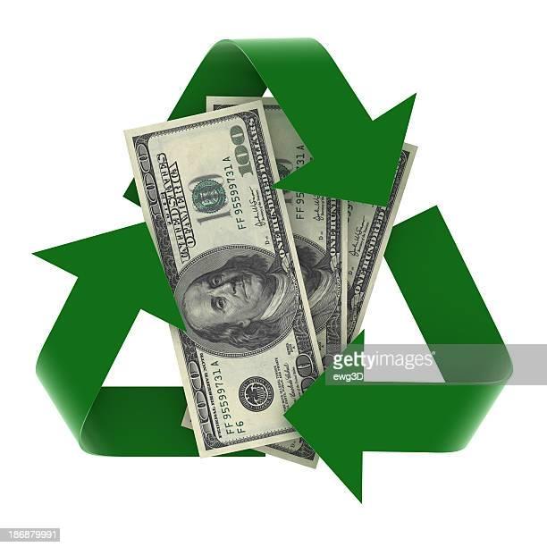 リサイクルシンボル通貨