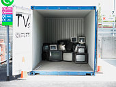 Recycling TVs and computer monitors