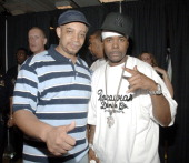DJ Red Alert and Memphis Bleek during RocaWear Presents Summer Fashion Show and Concert Featuring Teairra Mari Memphis Bleek and Young Gunz at Macy's...