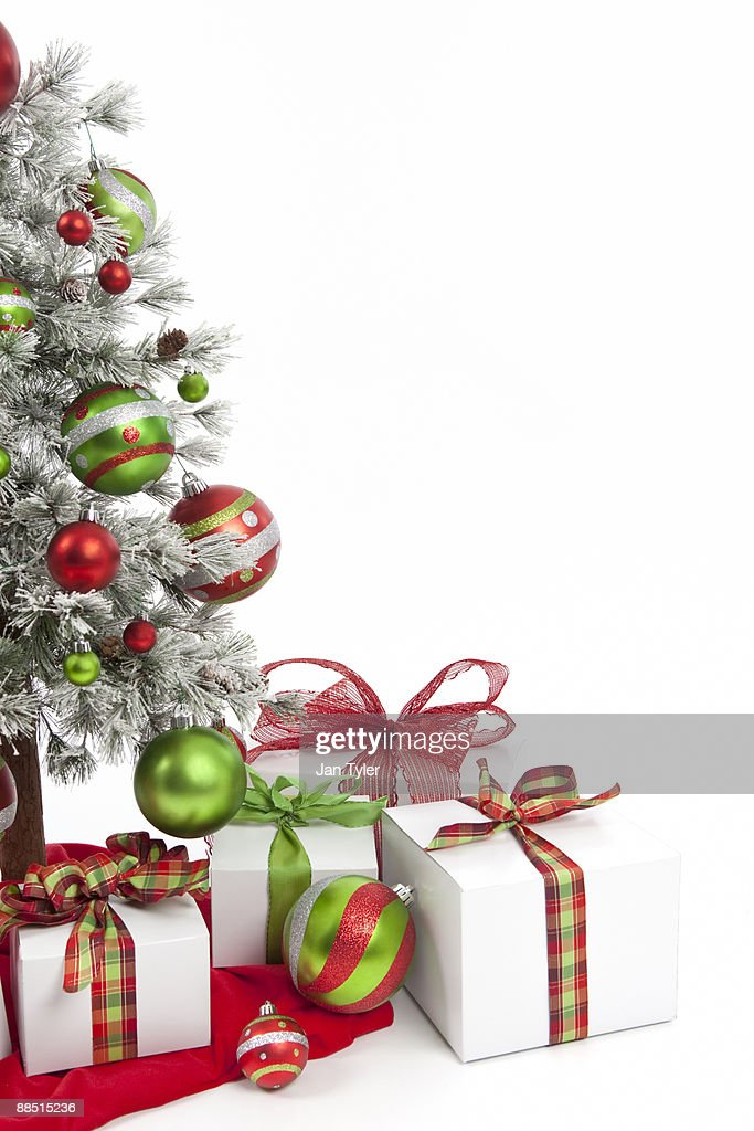 Red and Green Christmas : Stock Photo