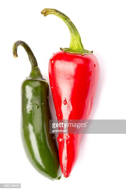 Red and Green Jalapeno Pepper