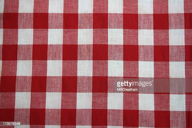 Red and White Check 2