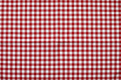 Red and White Checked Tablecloth Background