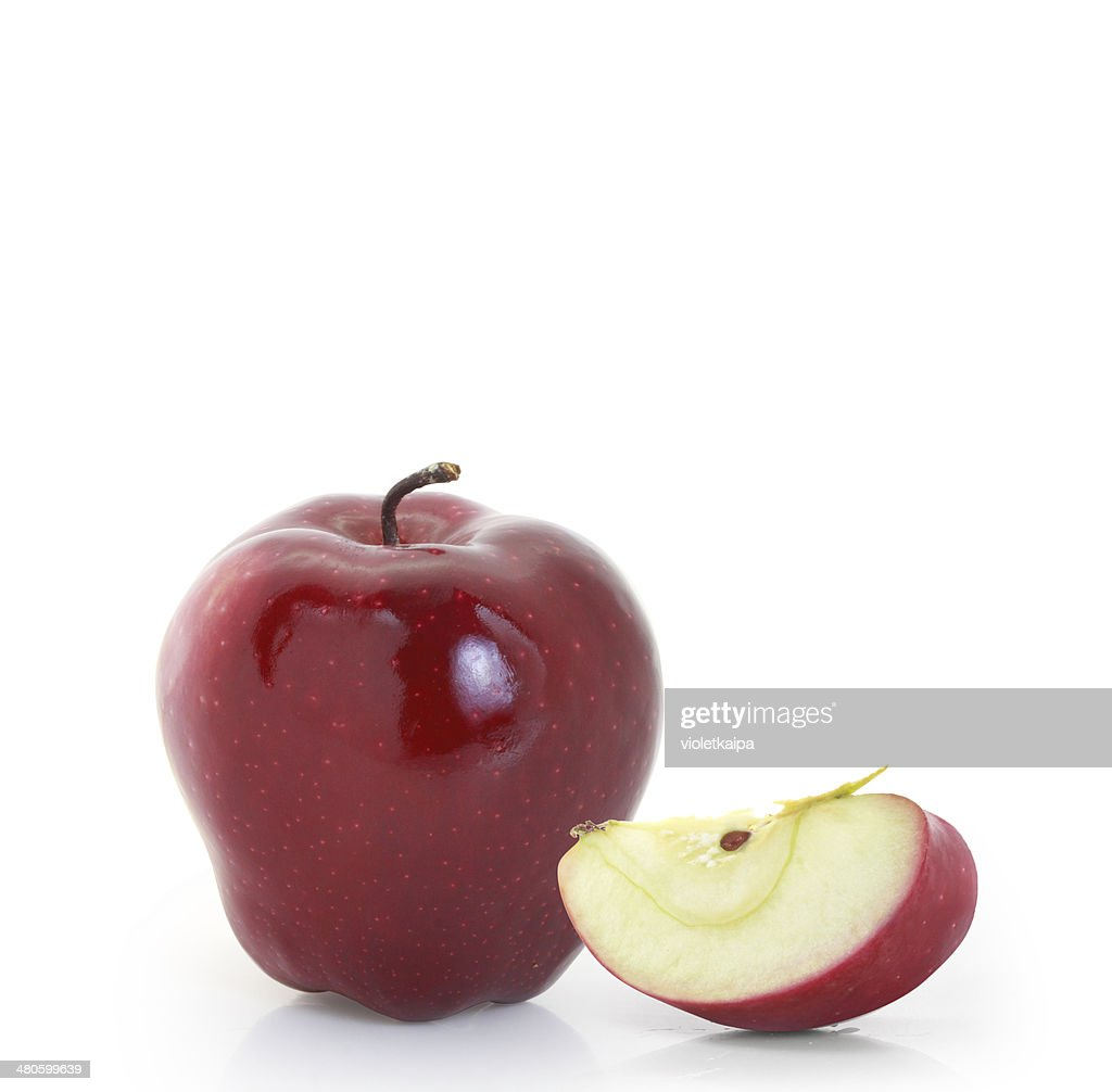 Red apple : Stock Photo