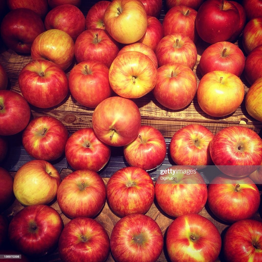Red apples : Stock Photo