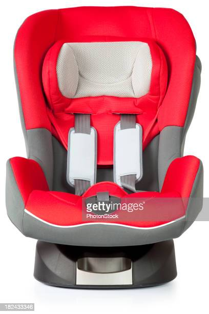 Red Baby Car Seat