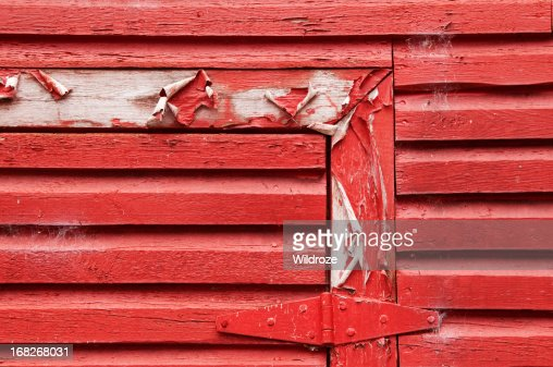 Red Barn Wood red barn wood planks stock photo | getty images